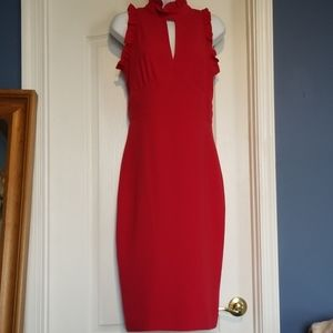 NWT Shoshanna red dress, size 4